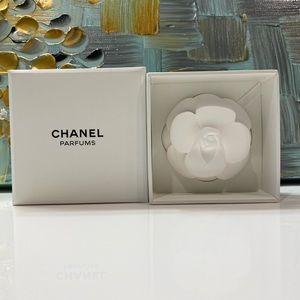Chanel Ceramic Camellia Diffuser Paperweight